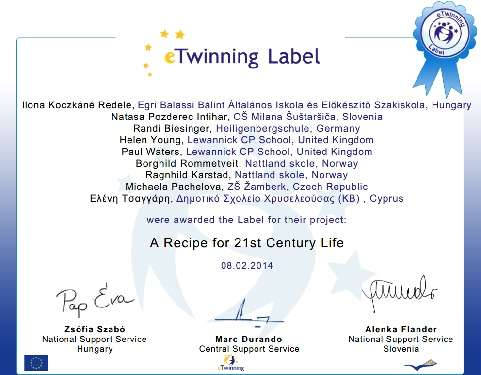 twinning label