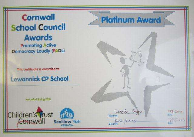 School Council cert