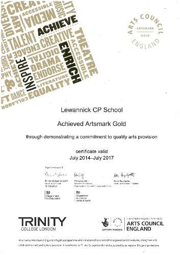 artsmark gold small